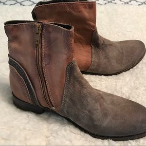 rebels Shoes - Leather Booties